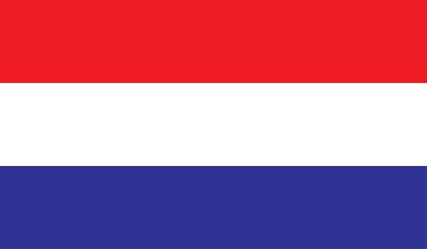 stockillustraties, clipart, cartoons en iconen met nederlandse vlag te downloaden - netherlands map