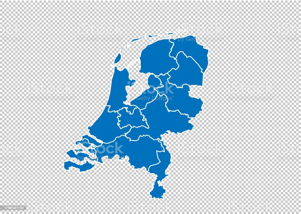 Taufspruch F303274r Karte.Niederlande Karte Regionen
