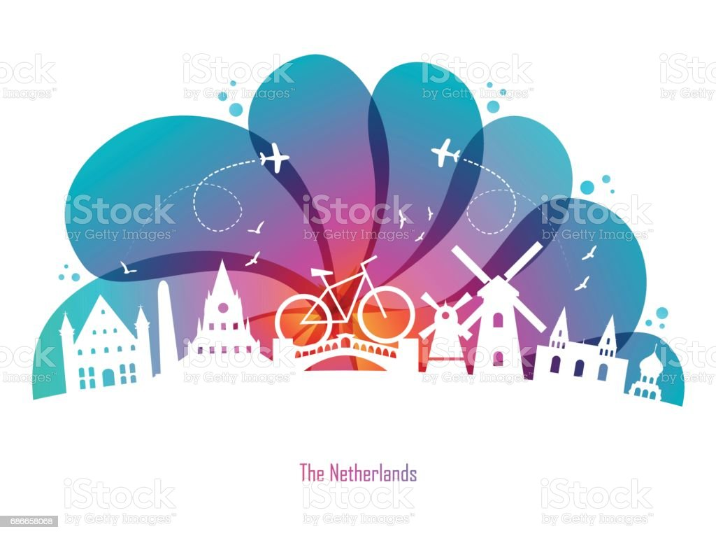 Netherlands-Drop royalty-free netherlandsdrop stock vector art & more images of abstract