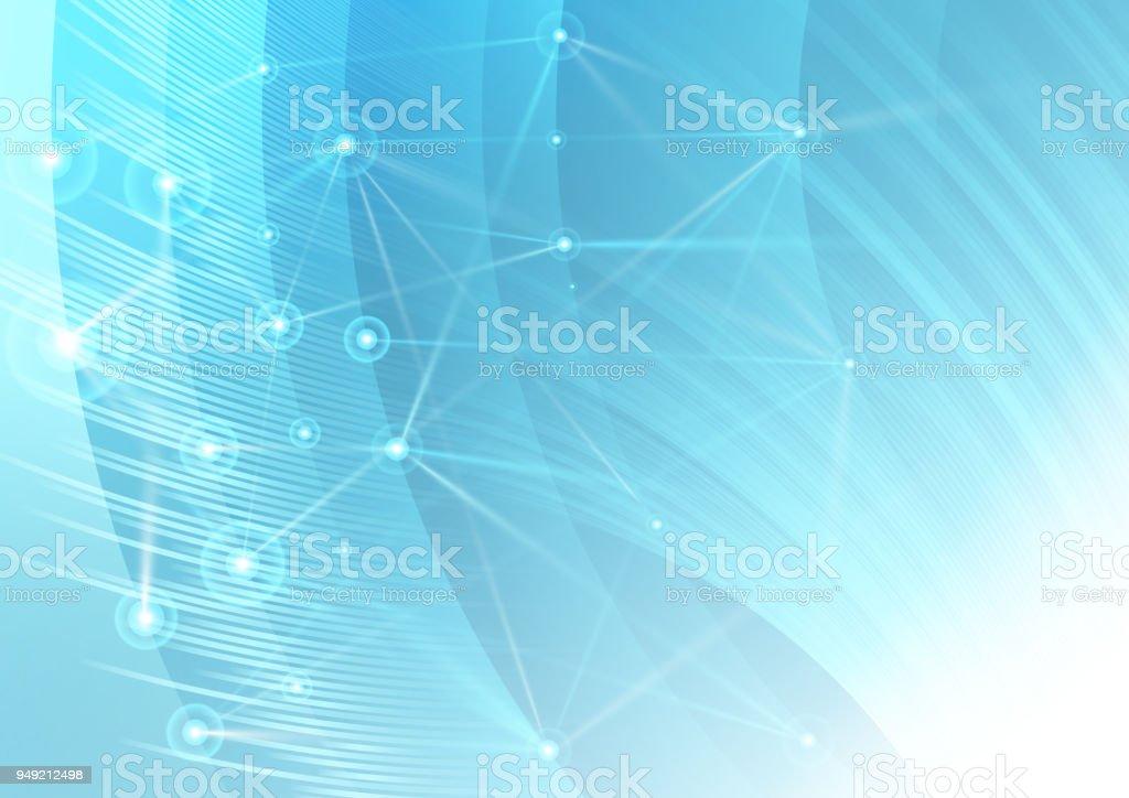 network background vector art illustration