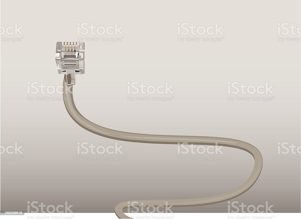 Network Connector royalty-free stock vector art