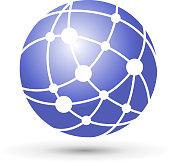 network symbol design element