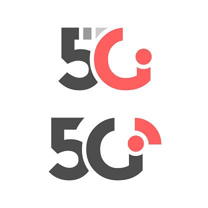 5G Network Icon Vector Design.
