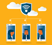 Network security, network lock, internet security