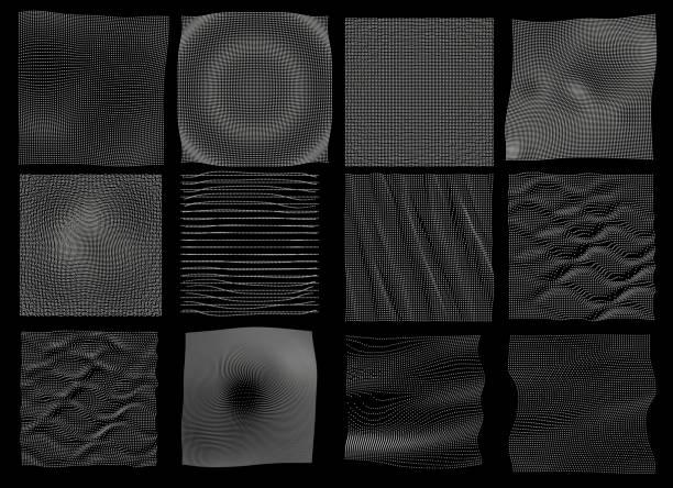 Netzwerk-Oberfläche – Vektorgrafik