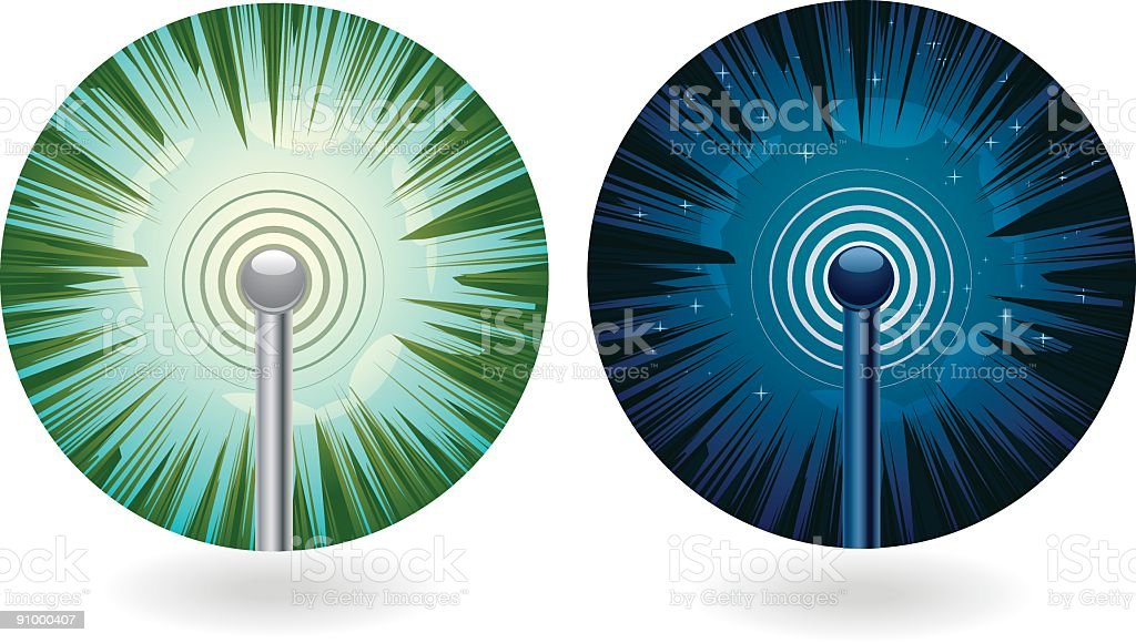 Network royalty-free network stock vector art & more images of antenna - aerial