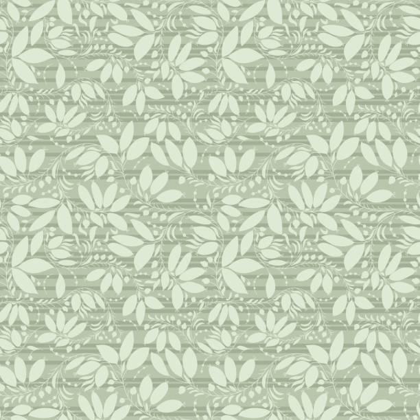 neutral floral background. swirl and curve - 葉狀花紋 幅插畫檔、美工圖案、卡通及圖標