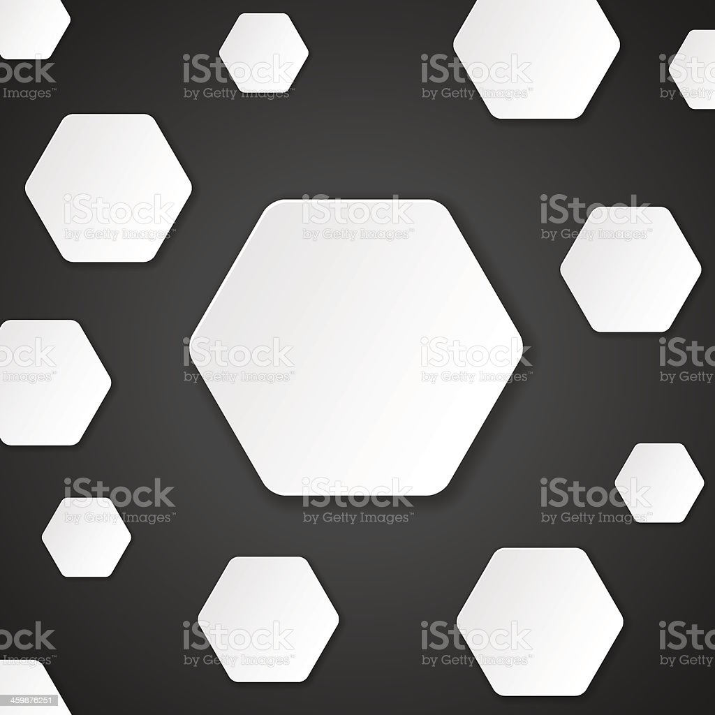 Neutral Paper Cut Background royalty-free neutral paper cut background stock vector art & more images of abstract