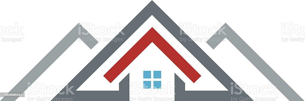 Super New Age Moderne Maison Immobilier Logo Emblématique Bâtiment En  ES21