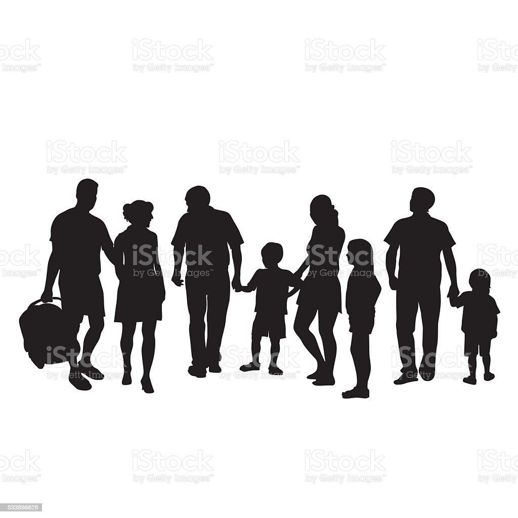 New Arrival vector art illustration