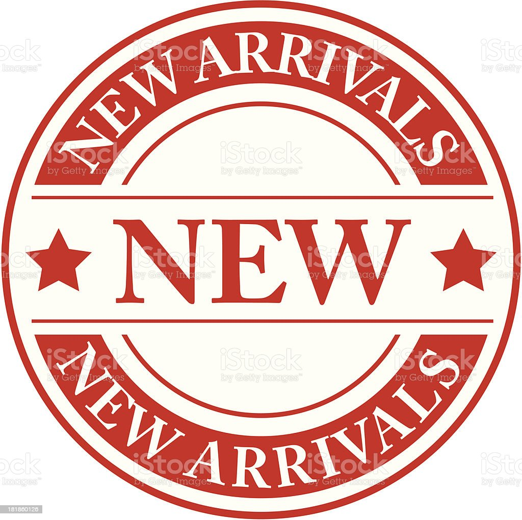 New arrivals  - VECTOR royalty-free stock vector art