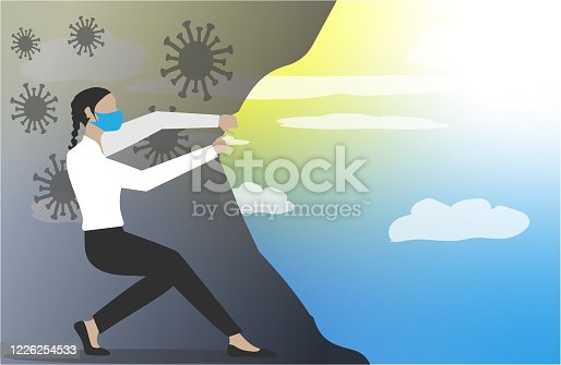 istock New better world after coronavirus COVID-19. 1226254533