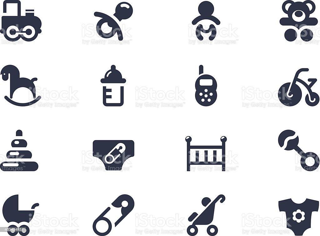 Neue baby geboren und Symbole Lizenzfreies neue baby geboren und symbole stock vektor art und mehr bilder von baby
