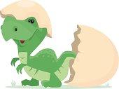 new born dinosaur