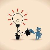 Vector illustration – New Bright Ideas.