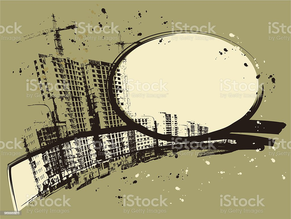 new buildings royalty-free stock vector art