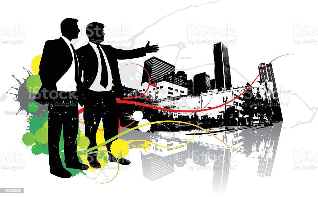 Nowe City - Grafika wektorowa royalty-free (Autorytet)