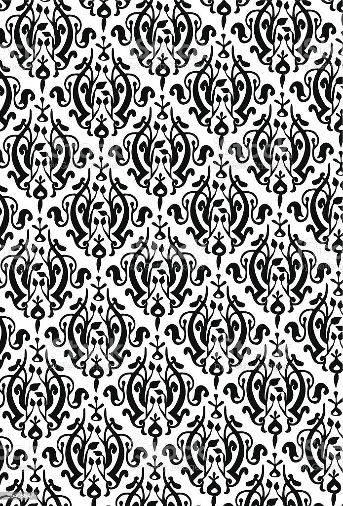 New Damask Style Pattern royalty-free new damask style pattern stock vector art & more images of abstract