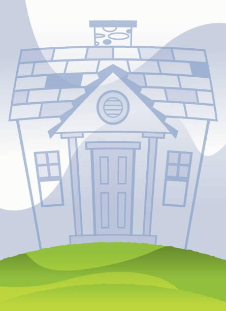 New Dream House vector art illustration
