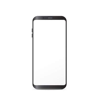 New Generation Smart Phone vector illustration isolated on white background.
