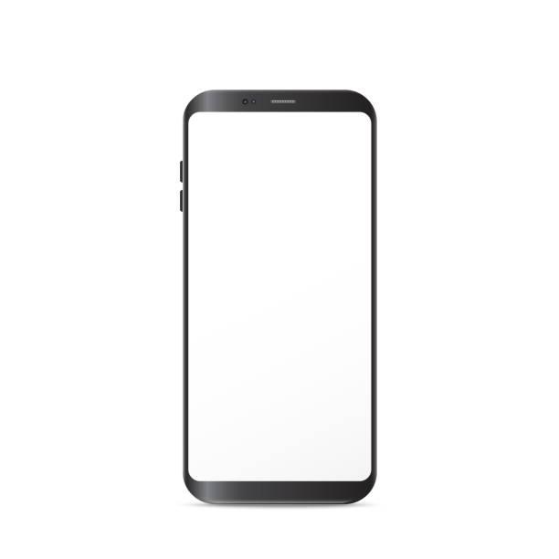 New Generation Smart Phone vector illustration isolated on white background. New Generation Smart Phone vector illustration isolated on white background. phone stock illustrations