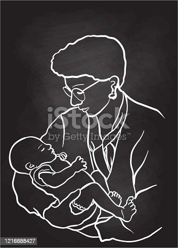 istock New Grandmother 1216688427