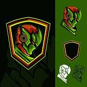 New Green Ninja : E-Sport Mascot