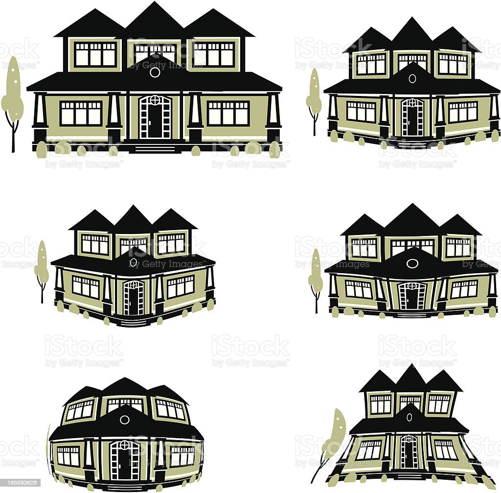 New Home royalty-free stock vector art
