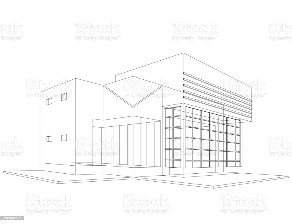 New house models wirefrmae stock vector art more images of new house models wirefrmae royalty free new house models wirefrmae stock vector art amp ccuart Image collections
