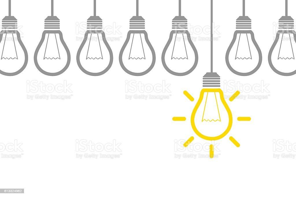 Nouvelle idée Concept nouvelle idée concept vecteurs libres de droits et plus d'images vectorielles de affaires libre de droits