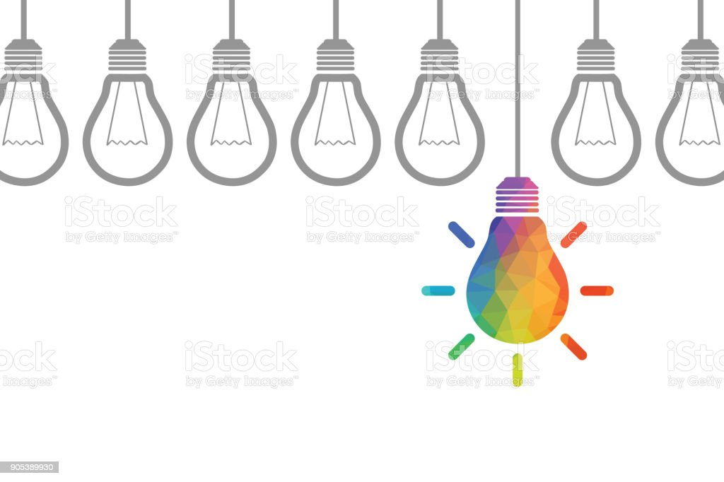 Neue Idee-Konzepte – Vektorgrafik