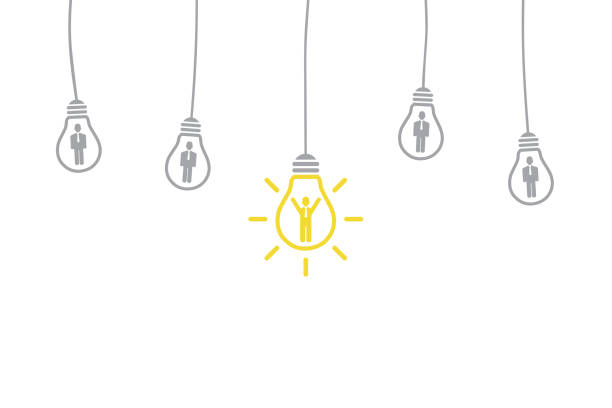 New Idea Human Resourses Concepts New Idea Human Resourses Concepts interview event stock illustrations