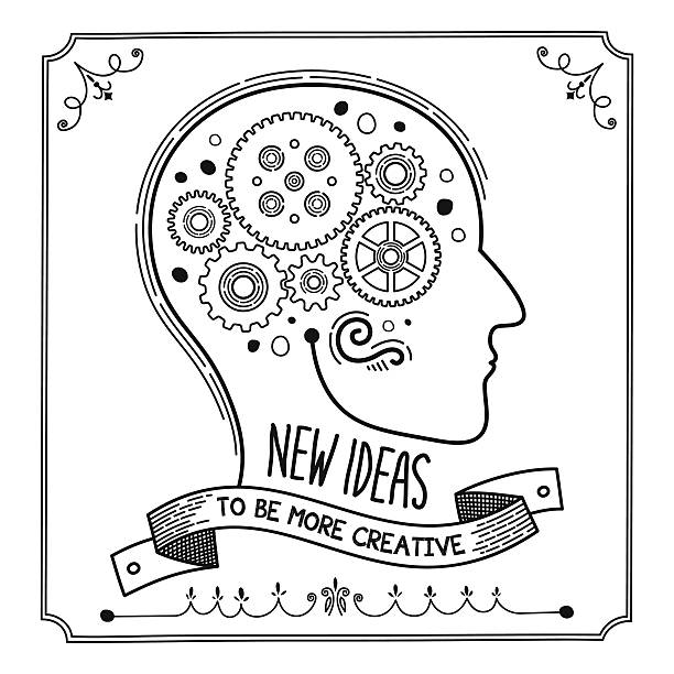 Novas ideias - ilustração de arte em vetor