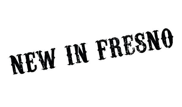 illustrazioni stock, clip art, cartoni animati e icone di tendenza di new in fresno rubber stamp - illustrazioni di ratzinger