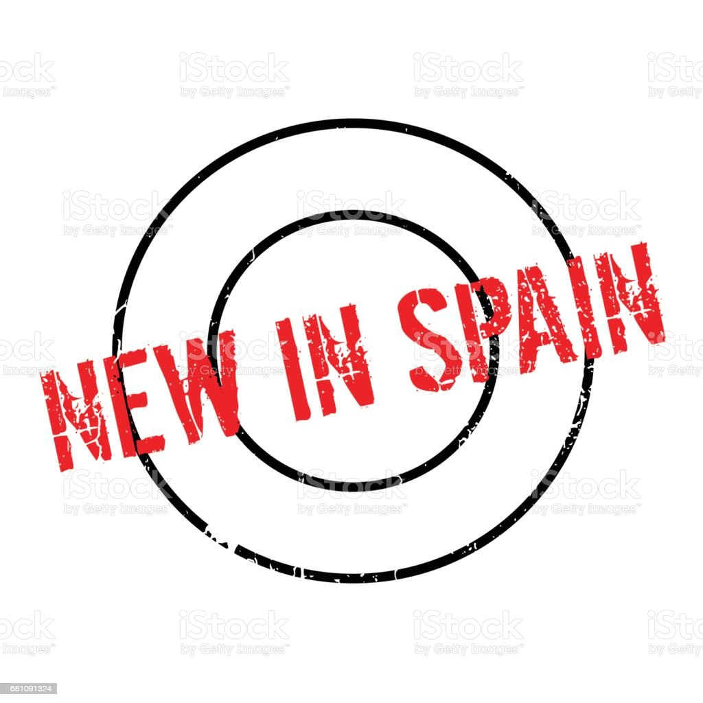 New In Spain rubber stamp royalty-free new in spain rubber stamp stock vector art & more images of concepts