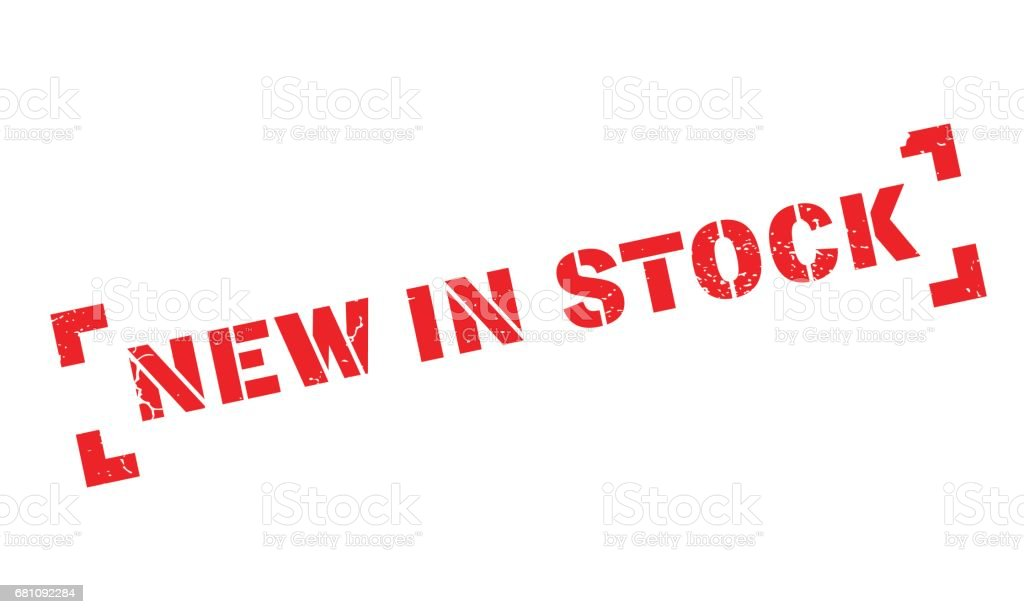 New In Stock rubber stamp royalty-free new in stock rubber stamp stock vector art & more images of bizarre