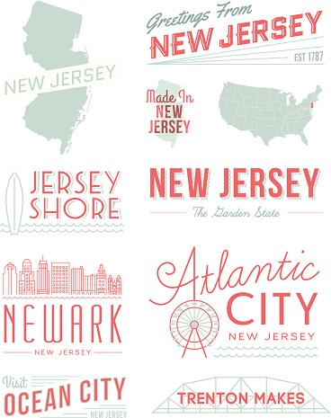 New Jersey Typography