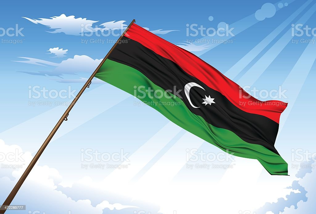 New Libya flag royalty-free new libya flag stock vector art & more images of arabic style