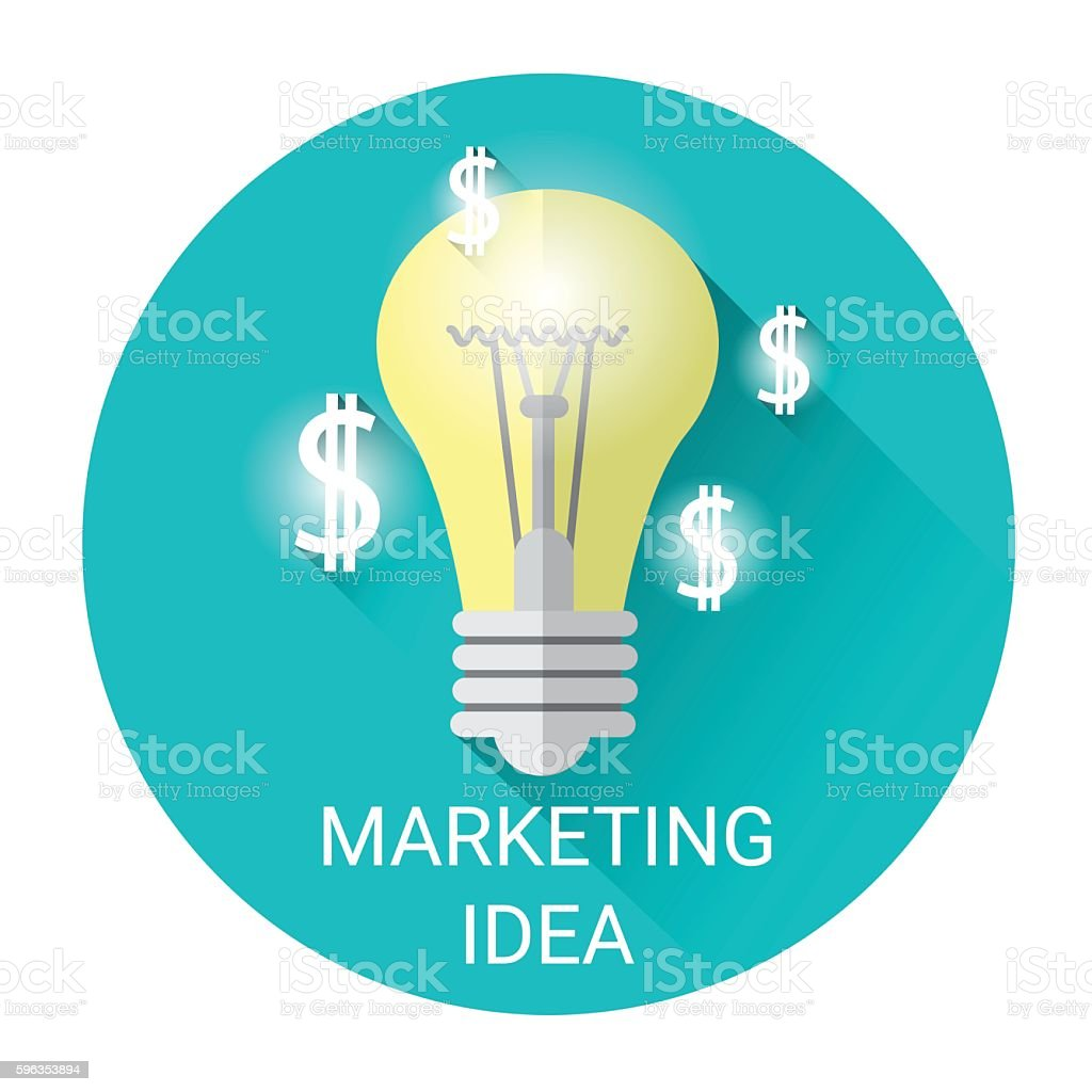 New Marketing Idea Business Economy Icon royalty-free new marketing idea business economy icon stock vector art & more images of business
