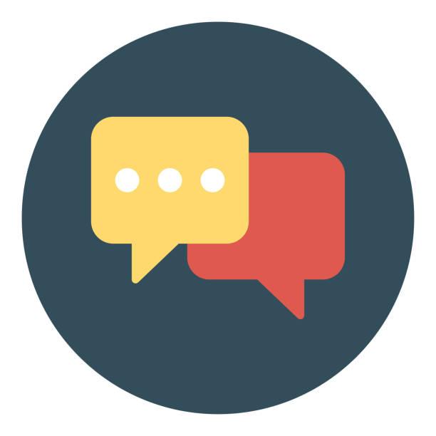 illustrations, cliparts, dessins animés et icônes de nouveau message, dialogue, notification de chat - twitter