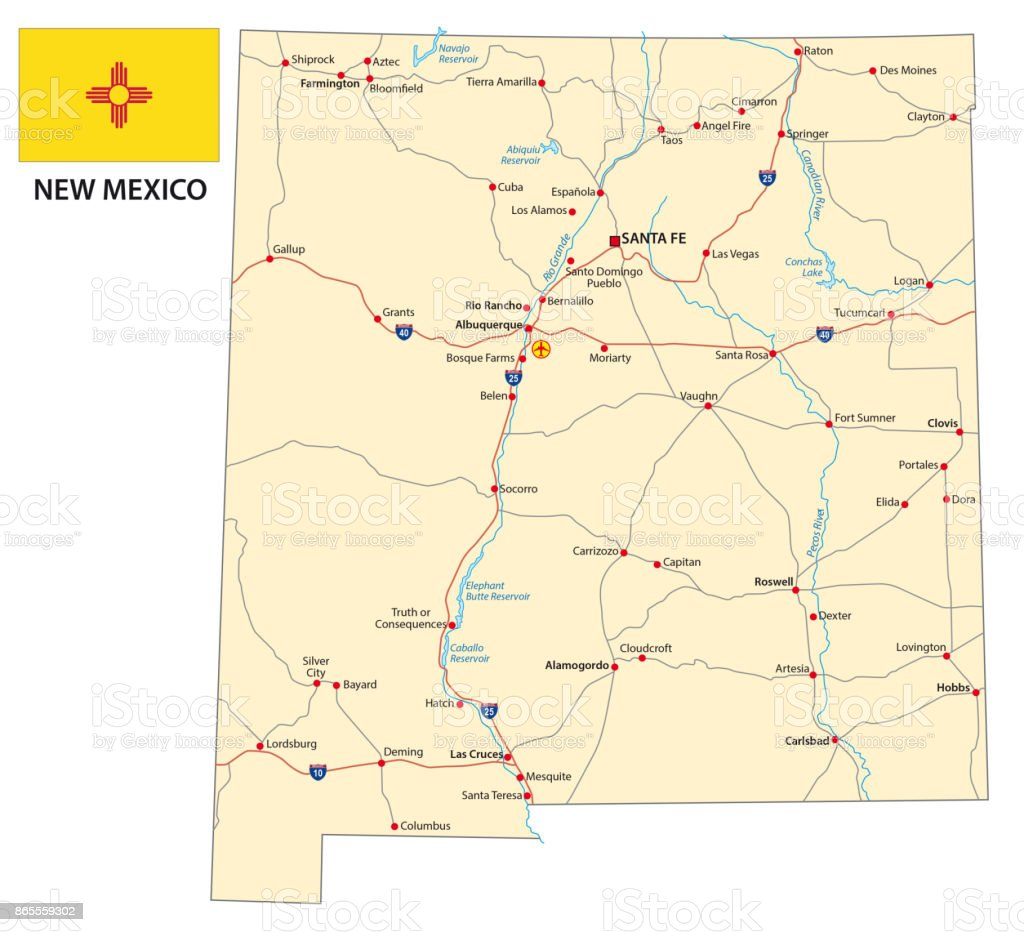 new mexico road map new mexico road map new mexico road map new