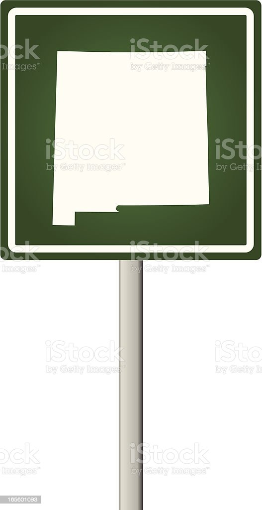 New Mexico Sign royalty-free new mexico sign stock vector art & more images of illustration