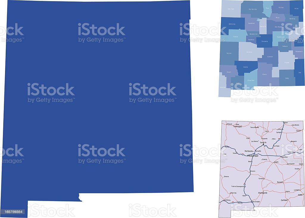 New Mexico royalty-free stock vector art