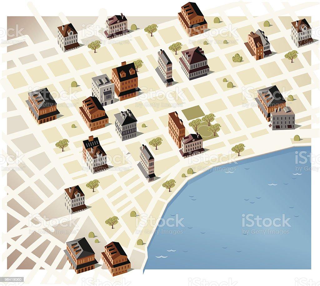 New Orleans vector art illustration