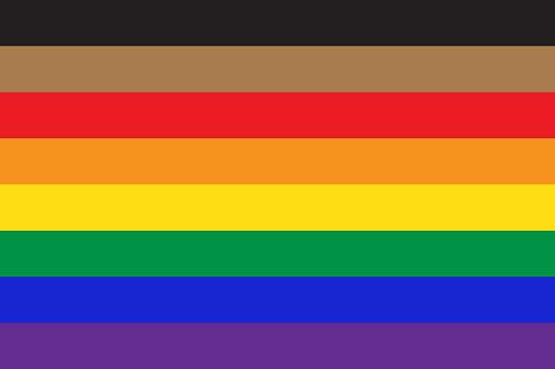New pride flag LGBTQ background