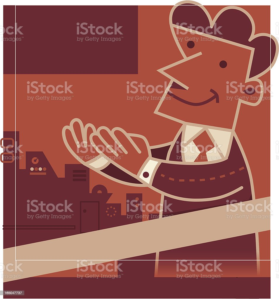 New Product Launch royalty-free stock vector art