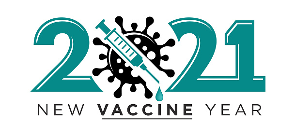2021 new vaccine year logo