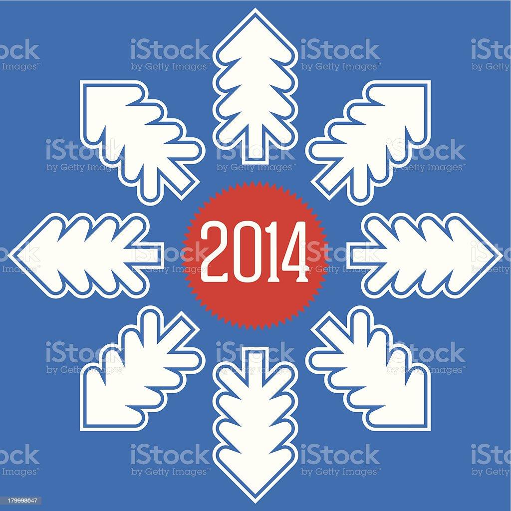 새해 2014 는 머지않았습니다 royalty-free 새해 2014 는 머지않았습니다 12월에 대한 스톡 벡터 아트 및 기타 이미지