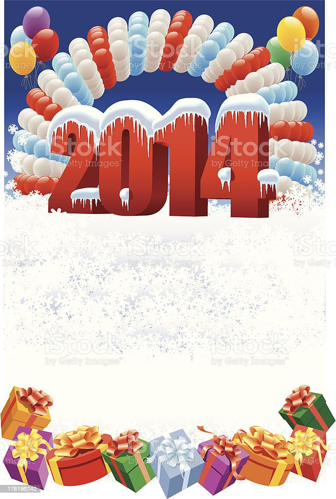 New Year 2014 royalty-free new year 2014 stock vector art & more images of abstract