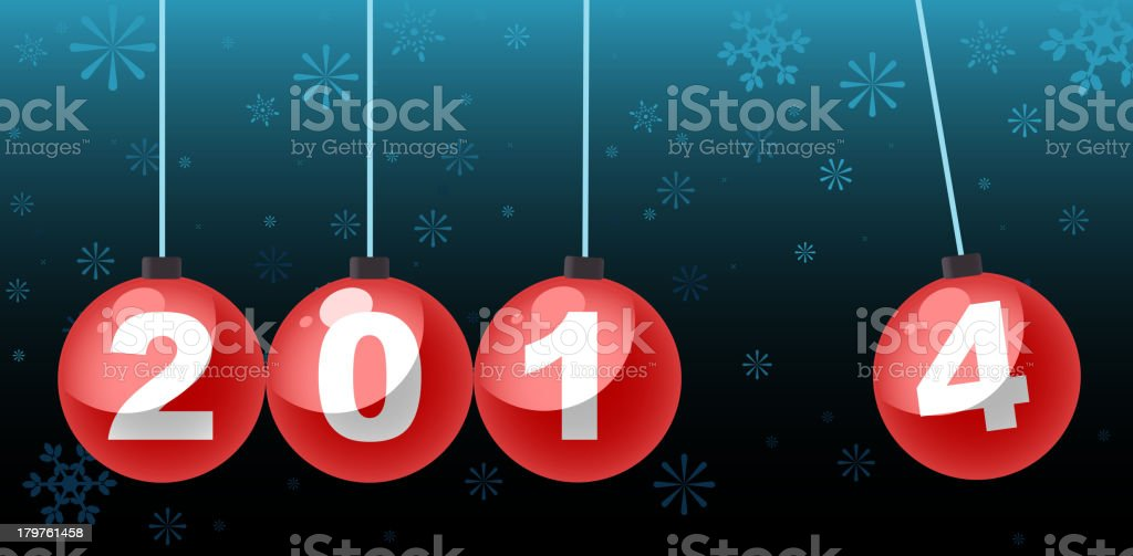 New Year 2014 royalty-free new year 2014 stock vector art & more images of 2014
